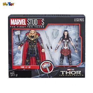 [SPECIAL OFFER] Marvel Studios The First Ten Years 6 Inch Thor & Sif 2-Pack