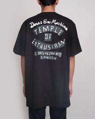 """Deus Ex Machina Temple of Enthusiasm NF """" Black"""""""