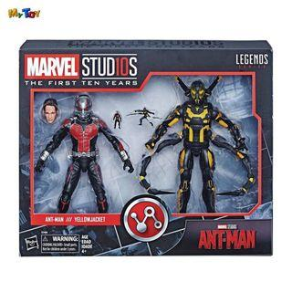[SPECIAL OFFER] Marvel Studios The First Ten Years 6 Inch Ant-Man & Yellow Jacket 2-Pack