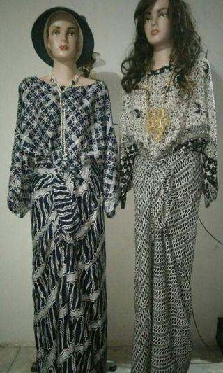 Gaun batik WB collection