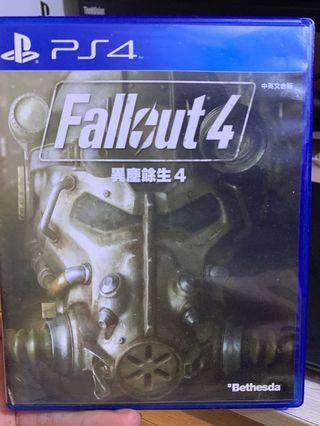 PS4 Fallout 4 無code
