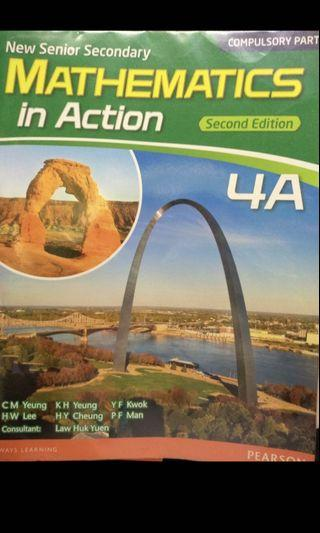 Mathematics In Action Second edition 4A 8成新!活頁裝
