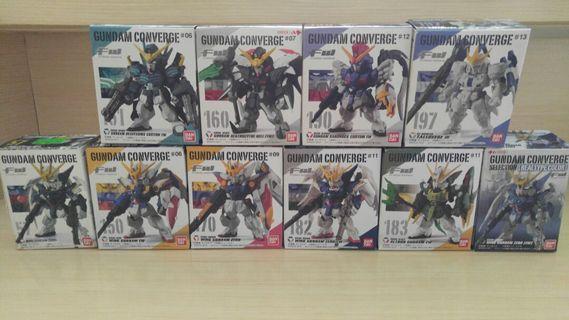 11款 W系列 5子 & 魔鬼 & 多魯基斯 Fw Gundam Converge