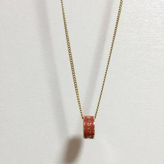 🚚 Marc Jacobs pink gold necklace