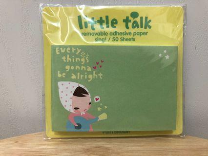 Little Talk memo 紙 (50張)