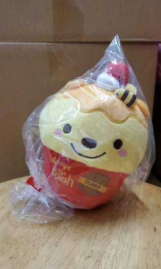 小熊維尼 Winnie the Pooh 杯子蛋糕造型公仔