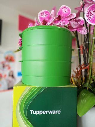 Steamer green color tupperware