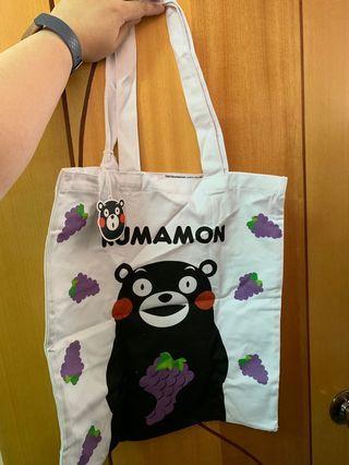 (包平郵)Kumamon tote Bag