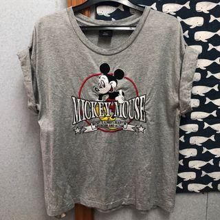Moussy x Disney Apparel Embroidery Mickey Mouse Tee