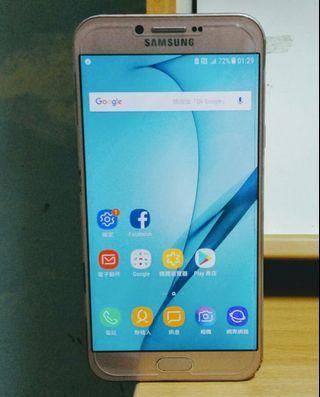 93% New Samsung A8 2016 Gold 金色