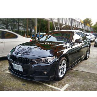 2014年 BMW 320 黑色 2.0