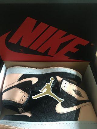 Nike air jordan beby crimson