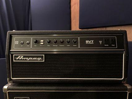 Ampeg SVT Classic Bass Head Amplifier