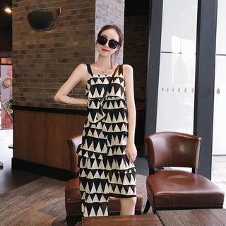🚚 渡假風 露肩雪紡黑白不規則造型連身裙 s-m可穿
