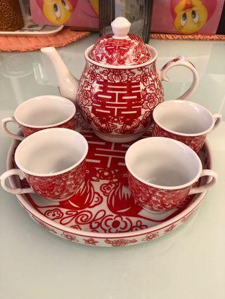 敬茶茶具 Wedding Tea Cup Set