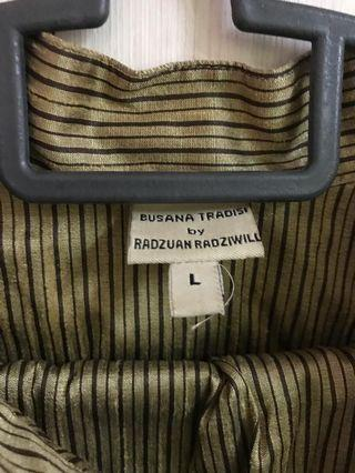 Radzuan Radziwil Baju Melayu