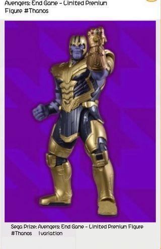 全新 Thanos 日本直送