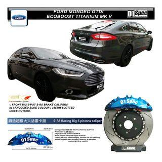 Ford Mondeo GTDI Titanium mk v ( D1 SPEC BIG BRAKE KIT 6 POT )
