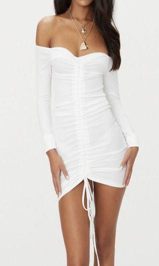 PLT Ruched dress