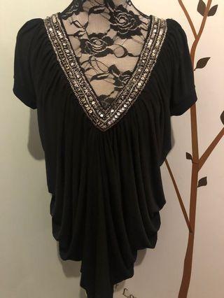 NEW Korean black dress
