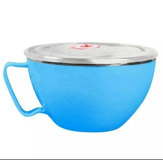Double Layer Stainless Steel bowl with handle. #MRTBoonKeng #MRTNovena #MRTSerangoon