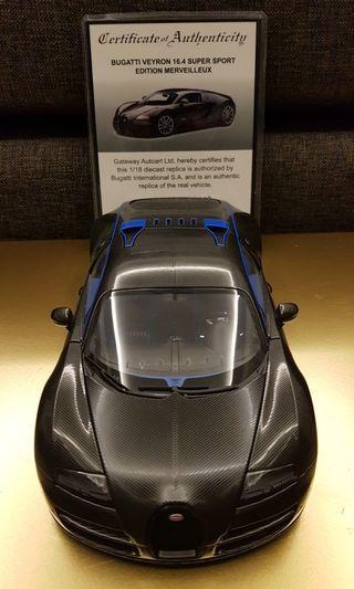 1/18 Autoart Bugatti Veyron Supersport