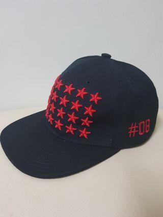 Cap & Hat black red 黑红帽子 #8