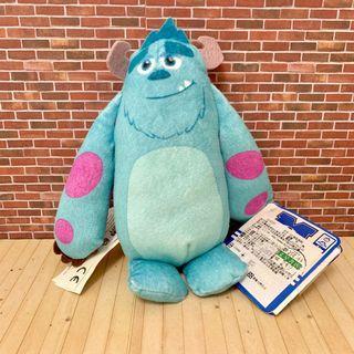 (全新)正版 迪士尼 皮克斯 怪獸大學 Sulley 毛怪 發聲 玩偶 布偶 娃娃 公仔