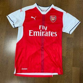 arsenal jersey authentic