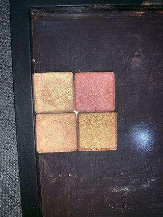Anastasia Beverly Hills depotted eyeshadows from the soft glam palette $2 EACH