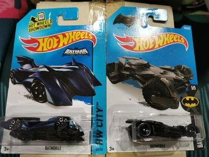 Hotwheels Batmobile Combo