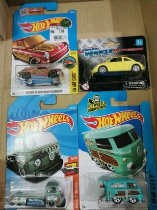 Hotwheels Lot - Volkswagen