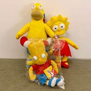 (全新)美國正版 辛普森家庭 The Simpsons 玩偶 布偶 娃娃 公仔 填充玩具