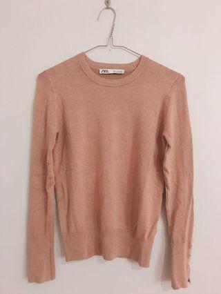 camel knit top