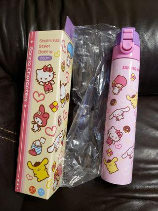 Sanrio Stainless Steel Bottle 200ml 銹鋼保温瓶