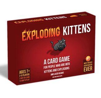 Exploding Kittens (RED)