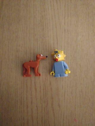 Lego The Simpsons Maggie Minifigure