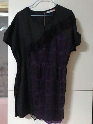 女裝上衣 (紫/黑色) L碼