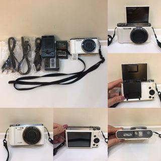 CASIO-zr1200美肌相機(白)