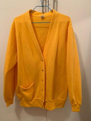 Yellow vintage cardigan (baggy)
