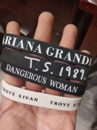 Taylor /Ariana/Troye bracelets 非官方