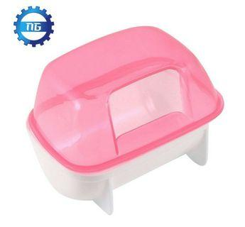 🚚 Pink white small bathtub