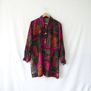 小草古著潮/vintage/異空間/復古襯衫