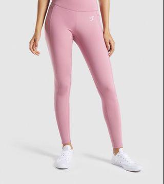 Gymshark Dreamy Leggings 2.0 Dusky Pink NEW ORI