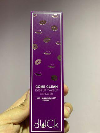 Duck Cosmetics makeup remover