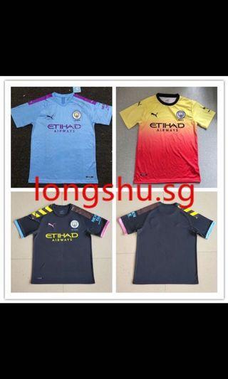 19/20 Manchester City Kits