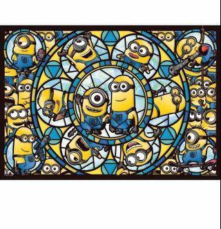 216塊Minions透明彩繪拼圖Minions Puzzle