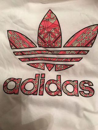 Adidas Originals Print Fill Trefoil T-shirt NWT