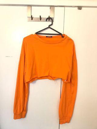 Orange crop jumper