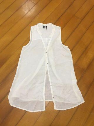 White Top - mango (80%new)